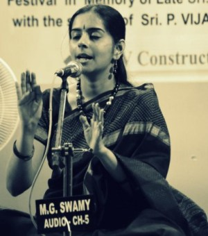 Nivedita at Parthasarathy Swami Sabha 2