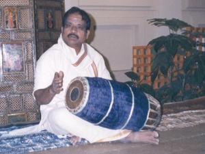 Shri T.R. Dhandapany, Ramkumar's guru in New Delhi
