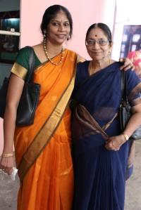 Nanditha with mother Smt. Rama Ravi