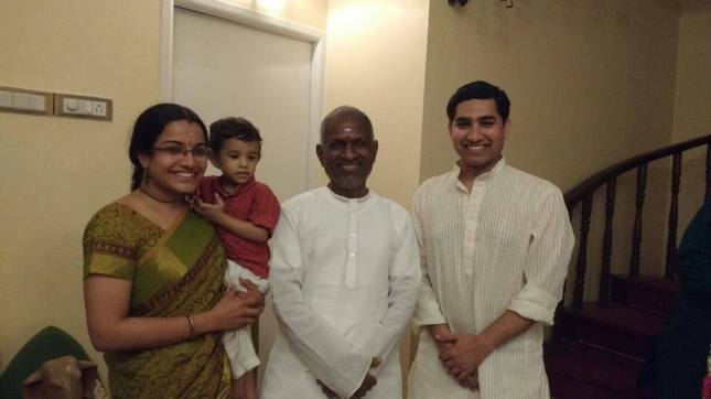 with Ilayaraja