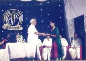 receiving-air-akash-vani-prize